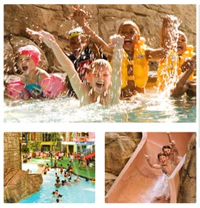 Aquadome Indoor Water Park - Emerald Resort & Casino Vanderbijlpark