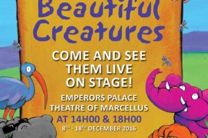 Beautiful Creatures Musical Show 2016 - Emperors Palace