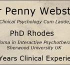 Clinical Psychologist Dr Penny Webster - Benoni