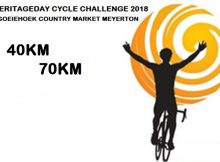 Heritage Day Cycle Challenge 2018 - Meyerton Gauteng