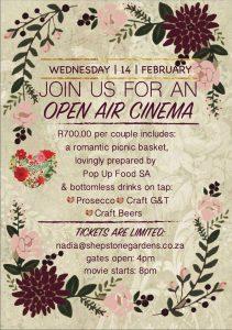 Valentines Day 2018 Specials Johannesburg - Shepstone Gardens