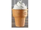 King Sundae Ice cream cone