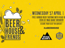 Free Guided Beer Tasting & Mad Giant - BEERHOUSE Fourways