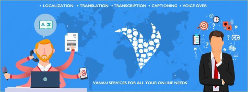 Online Transcription Services - Vanan Online Services