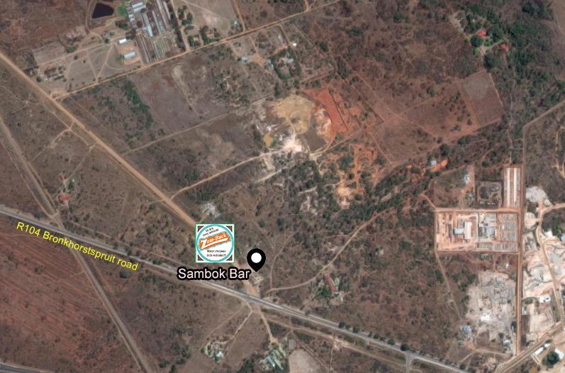 Sambok bar map